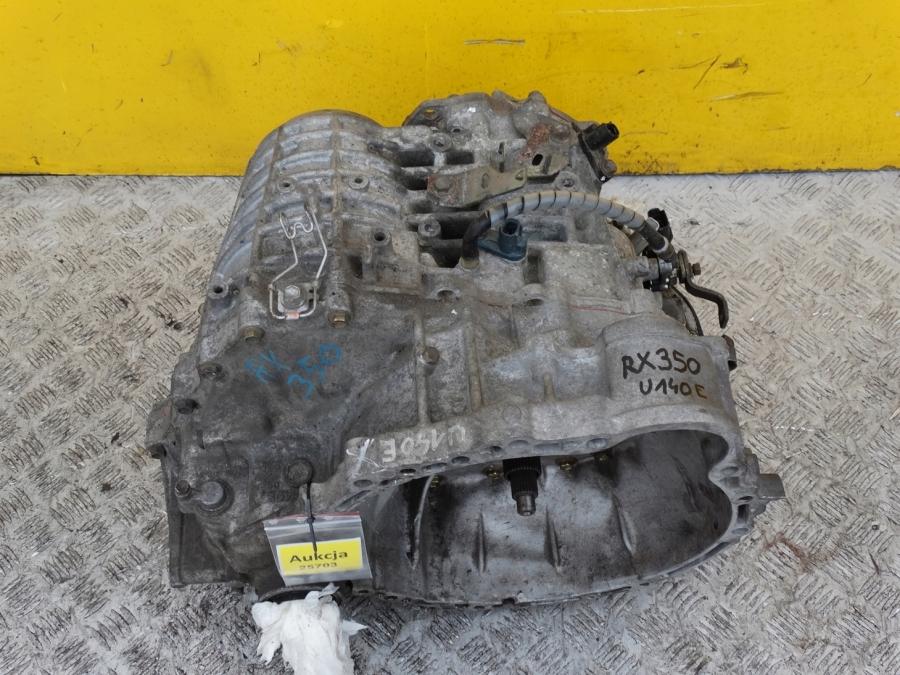 LEXUS RX RX350 3.5 V6 04- COMPLETE GEARBOX  AUTOMAT