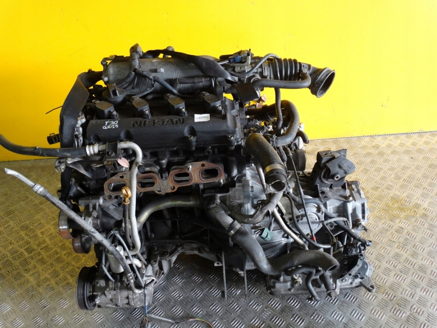 NISSAN X-TRAIL T30 2001-   COMPLETE ENGINE 2.5 QR25