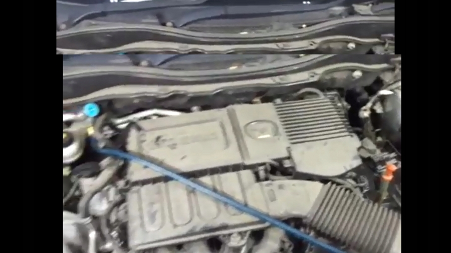 MAZDA 2 2007- COMPLETE ENGINE 1.5 ZY